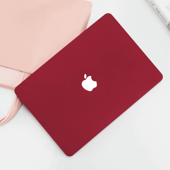 Case Bordeaux Đỏ Đô Macbook
