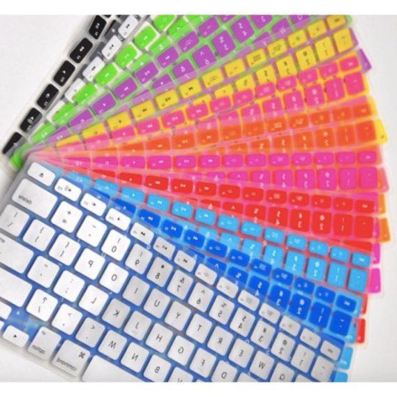 Lót phím cilicon cho macbook