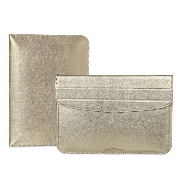 Túi da đựng macbook màu xám