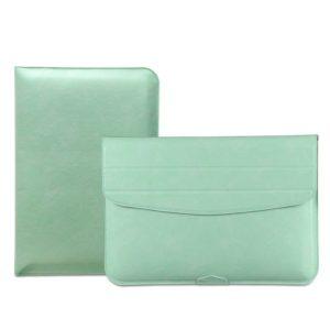 Túi da đựng macbook màu xanh ngọc