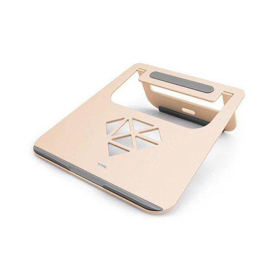 Đế nhôm tản nhiệt Macbook JCPal hồng