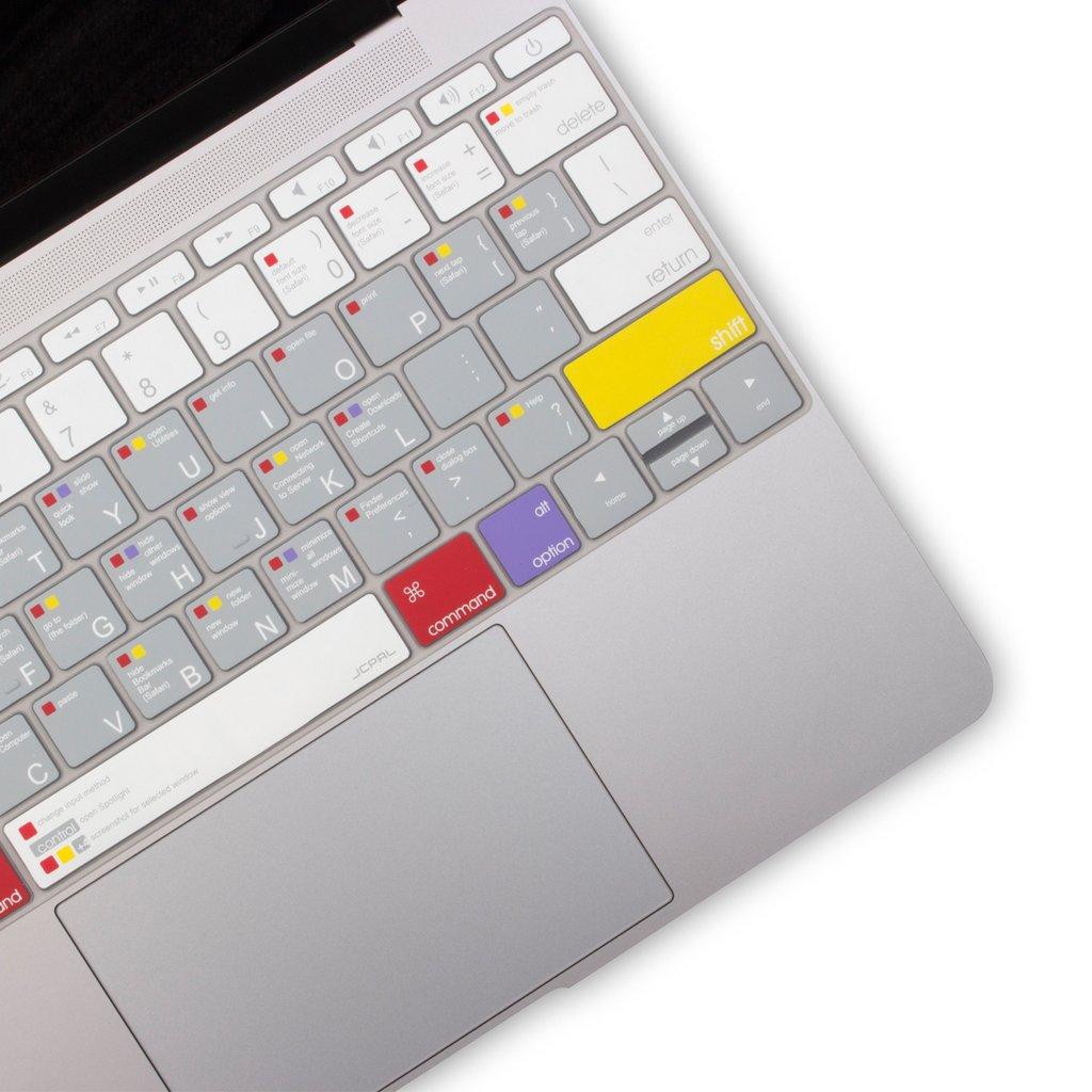 Lót phím Jcpal bản phím tắt MacOs Macbook