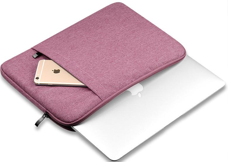 Túi đựng macbook màu hồng