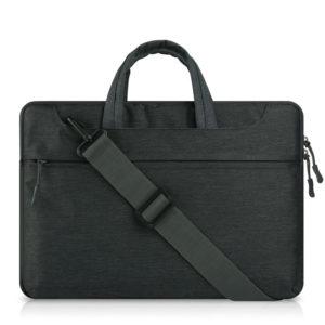 Túi chống sốc macbook dây đeo chéo đen