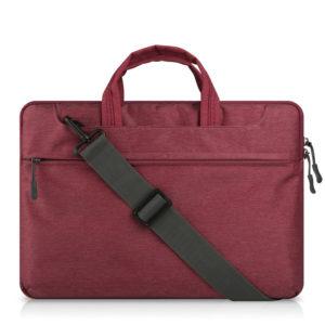Túi chống sốc macbook dây đeo chéo đỏ