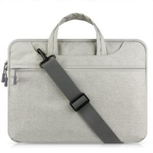 Túi chống sốc macbook dây đeo chéo xám
