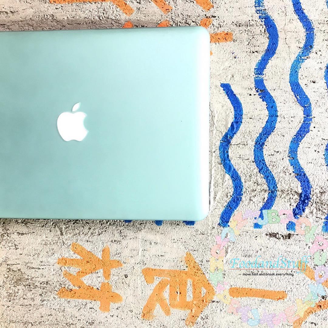 Case macbook màu mint