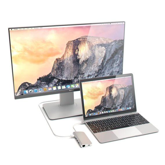 Adapter/Hub chuyển đổi USB-C 8 trong 1 Letouch