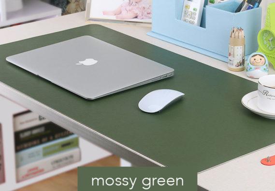 Thảm trải bàn deskpad xanh la