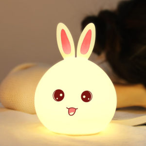 Đèn Led Thông Minh Thỏ Màu Trắng