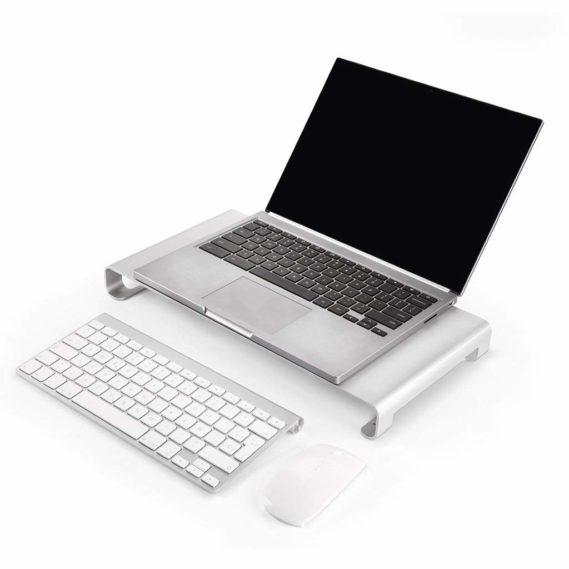 Kệ để Imac hay Macbook kèm USB Hub