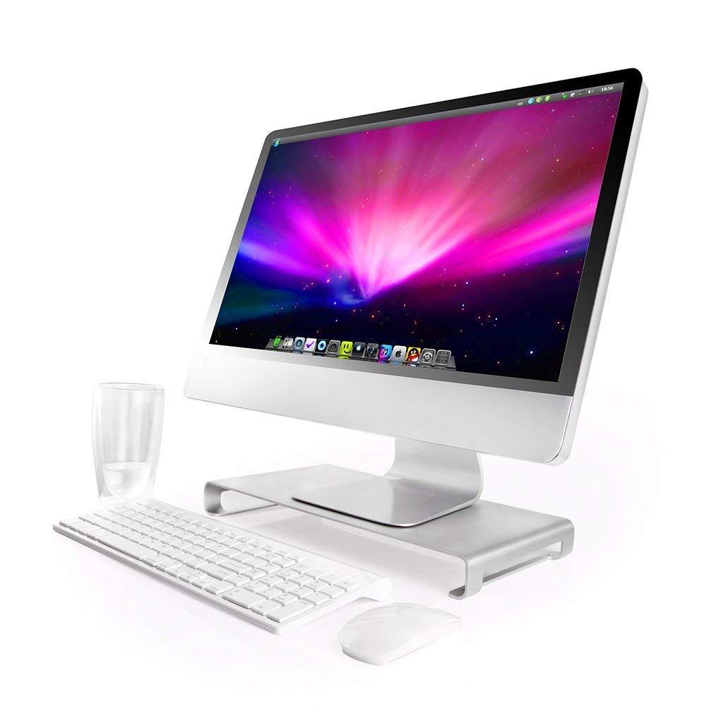 Kệ để Imac hay Macbook kèm USB Hub nhôm