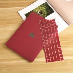 Case macbook đỏ pastel