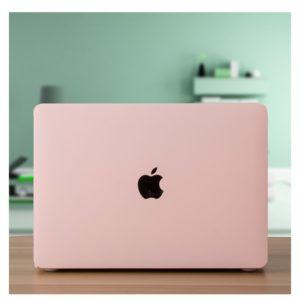 Case Macbook màu hồng pastel