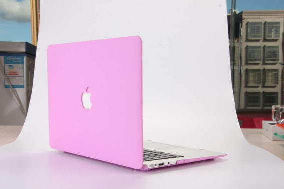 Case macbook màu tím pastel