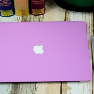 Case macbook tím pastel