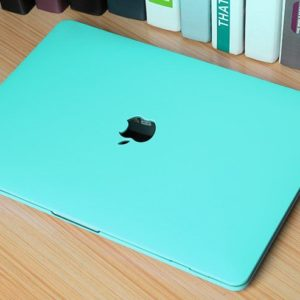 Case macbook xanh la pastel