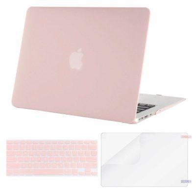 Case Macbook màu xanh pastel lót phím