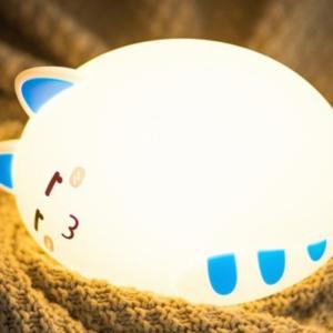Đèn led thông minh mèo lười buồn