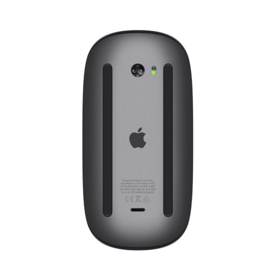 Magic Mouse 2 (Grey) mặt sau