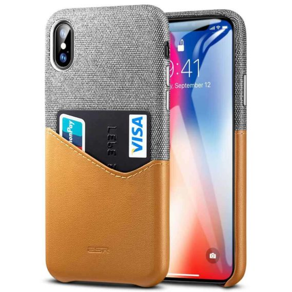Case iphone ESR Nâu Đứng