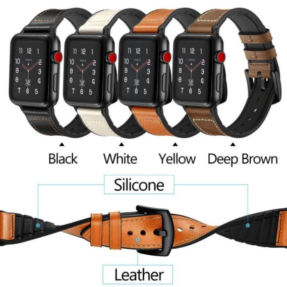 Dây Đeo Da Jinya Hero Cho Apple Watch