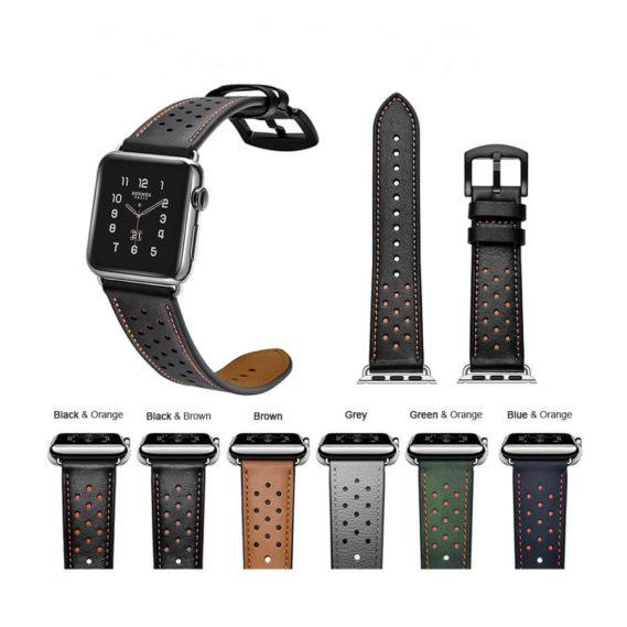 Dây Đeo Da Jinya Vogue Cho Apple Watch