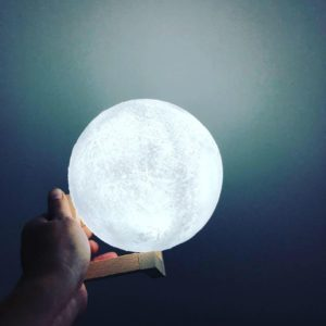 Đèn Led Mặt Trăng Trắng