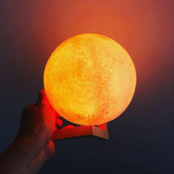 Đèn Led Mặt Trăng Cam