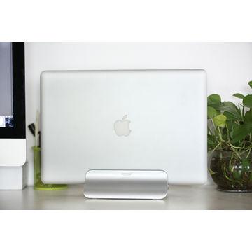 Stand Nhôm Cắm Với Chiếc Macbook