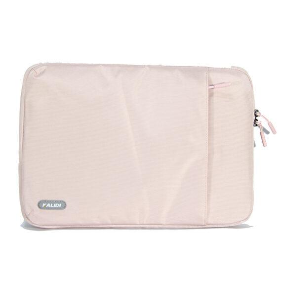 Túi chống sốc kalidi màu hồng mặt trước