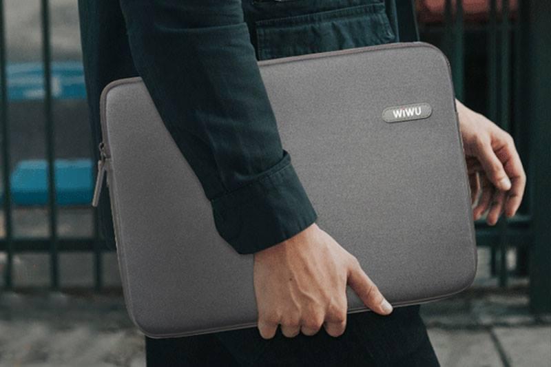 Túi chống sốc wiwu màu xám